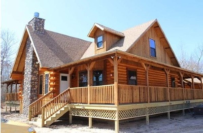 log style home builders